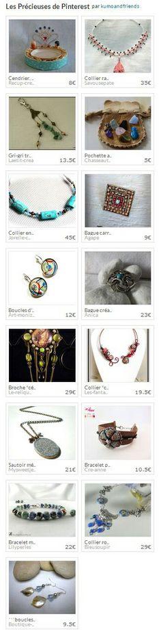 Collection Les Précieuses de Pinterest par kumoandfriends. http://www.alittlemarket.com/collection/les_precieuses_de_pinterest-297781.html