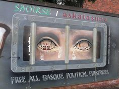 Belfast. Basque country mural