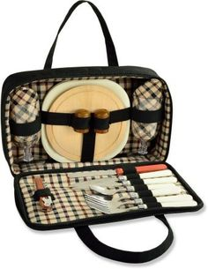 Picnic At Ascot London 2 Person Portable Picnic Set
