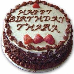 500 Gms Black Forest Birthday Cake IGPC002