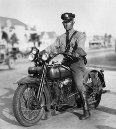 Motorcycle cops.