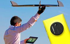 Nokia Lumia 1020 convertido en un Drone gracias a Lehmann Aviation http://www.xataka.com/p/109904