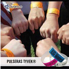 c9973f889054 Pulseras Tyvek ideales para eventos.  Eventos  Tyvek  Pulseras