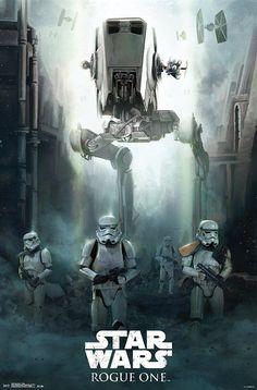 - The perfect Wall Poster gift for any Star Wars fan. - Display this 22 x 34 inch licensed star Wars Rogue One Poster in your home, bedroom, playroom, classroom, dorm room or office workspace. - Featu
