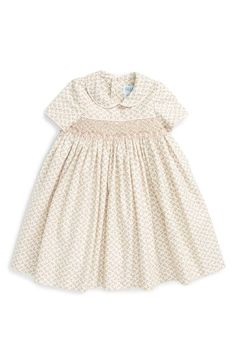 Luli & Me Floral Print Dress (Baby Girls) available at #Nordstrom