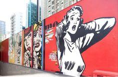 "Daniel Melim (Source: Catraca Livre ""Google lança galeria de arte urbana on line"" Tool to search street art on Google at https://www.google.com/culturalinstitute/project/street-art)"
