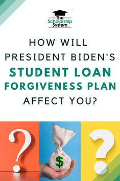 Student loan forgiveness is a hot topic. If you're wondering how President Biden's student loan forgiveness plan affects you, here's what we know so far. Federal Student Loan Forgiveness, Federal Student Loans, Student Loan Debt, Student Loan Repayment, Private Student Loan, Scholarships For College, New Students, Budgeting Money