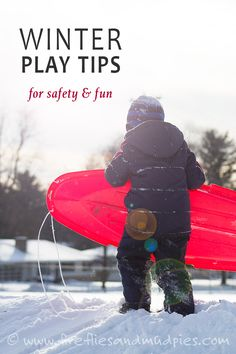 In cold winter climates, it can be challenging toconvince children to go outside to play.The weather may be bitter, windy, snowy, and wet. Some children, like my youngest son, dislike the heaviness of snow boots and the thick, restricting feel of snow-pants.Still, you'll discover that with just 20minutes of outdoor play in crisp air, your… Read More