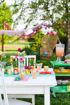 Interiors by Jacquin: Entertaining with Style: Sweet Lulu's Colorful Margarita Party!