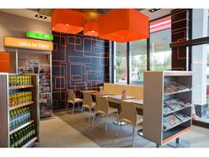 Lukoil interior designed by Minale Tattersfield