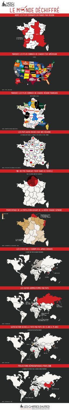 10 cartes infographiques sur la France et le monde. Les chiffres d'Alfred. chiffre_infographie_719.jpg (980×5816)                         video recorder there