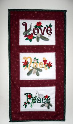 Peace and Love Wall Hangings