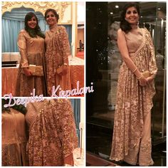 """Style says """"only me!!""""Sharara look with an uneven fixed draped.  #womenswear#details#embroidery#crystals#swarovski#indianoutfit#indianwedding#formals#fashion#designerwear#desiwedding#desichic#desi_couture#couture#jakartadesigner#shaadi_bazaar#desifashion#allnew#fashion2016#indiandesigner#deepikakirpalani#style"""
