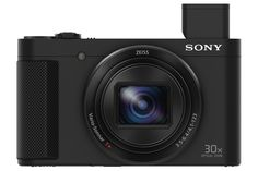 Buy Black Sony Cyber-Shot Camera, HD Optical Zoom, Wi-Fi, NFC, Vari Angle LCD Screen from our Cameras range at John Lewis & Partners. Sony Digital Camera, Sony Camera, Video Camera, Camera Shop, Camera Gear, Best Vlogging Camera, Best Camera, Nikon D5100, Digital Cameras
