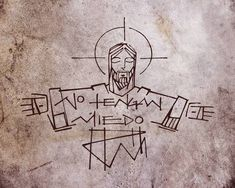 Jesus Art, Jesus Christ, Jesus Drawings, Jesus Is Alive, Jesus Tattoo, Horror Artwork, Jesus Painting, Spirited Art, Religious Cross