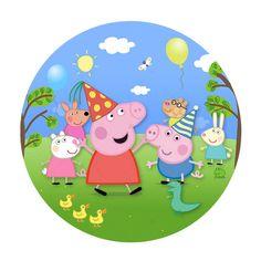 Peppa Pig Birthday Invitations, Pig Birthday Cakes, Painel Peppa Pig, Peppa Big, Peppa Pig House, Peppa Pig Teddy, Aniversario Peppa Pig, Girl Cakes, Banner