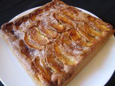 Dutch Apple cake with beans - Tarta de manzana con alubias - http://www.legumechef.com/