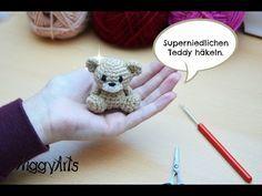 DIY Häkeln Gratisanleitung kleines Schaf Tutorial - YouTube