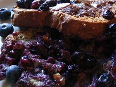 Eye-Opening Blueberry French Toast