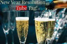 New Year Resolution Tag! #YouTube