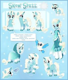 Snow Spell Ultimate Reference Guide by Centchi on DeviantArt:
