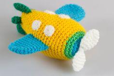 Airplane Amigurumi Crochet Pattern Crochet Toys by PointelleShop