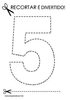 130 Atividades Recortar é Divertido envio por e-mail apostila digital - ESPAÇO EDUCAR LOJA Math Worksheets, Fine Motor, Preschool Activities, Maths, Craft, Good Luck, Literacy Activities, Mariana, Early Education