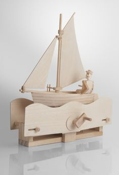 The Tree House Shop; the salty sailor timberkits self assembly automaton kit from online available online now (www.thetreehouse.co.uk)