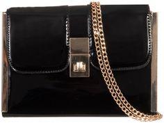 £12 Black Clutch Bags, Black Box, Fashion Accessories, Shoulder Bag, Wallet, Chain, Womens Fashion, Pocket Wallet