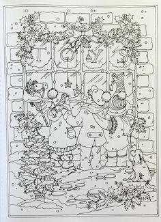 Amazon.com: Creative Haven Winter Wonderland Coloring Book (Adult Coloring) (9780486805016): Teresa Goodridge: Books
