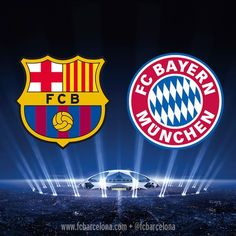 Barca vs Bayern, Champions League Semi's, Wednesday 6th May 2015! Tough game but we can do it!! Let's go Barca!! <3