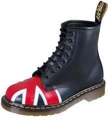 Union Jack Dr. Martens boot