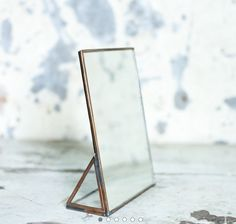 Kiko Standing Mirror Antique Copper