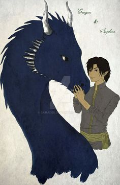Eragon and Saphira by GamaDes on DeviantArt