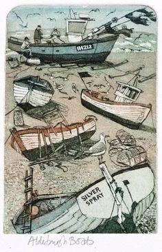 Glynn Thomas - Aldeburgh Boats