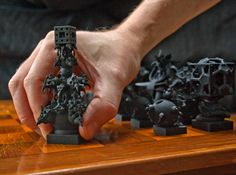 Surreal Chess Set - My Masterpieces - The King by MANDELWERK