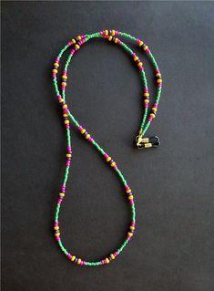 Chain for Sunglasses, Sunglass Holder, Sunglass Lanyard, Glasses Chain, Glasses . Diy Jewellery Chain, Seed Bead Jewelry, Diy Jewelry, Beaded Jewelry, Handmade Jewelry, Beaded Bracelets, Seed Beads, Jewelry Holder, Waist Jewelry
