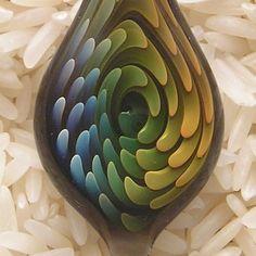 EMBLEM Lampworked Borosilicate Glass Pendant by emblemglass, $16.00