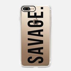 Chic iPhone 7 & 7 Plus Case | Savage (Black)