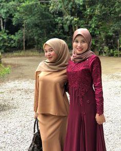 Hijab Evening Dress, Hijab Dress Party, Arab Girls Hijab, Muslim Girls, Beautiful Muslim Women, Beautiful Hijab, Hijabi Girl, Girl Hijab, Modern Hijab Fashion