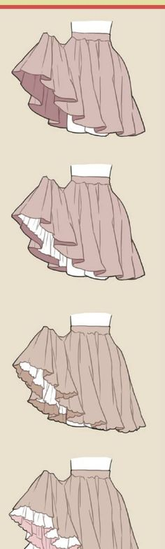 Skirt/clothes reference Anime Sketch, Art Base, Drawing Skills, Drawing Tips, Drawing Sketches, Drawing Clothes, Manga Drawing, Art Tips, My Drawings
