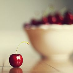 Food Photography kitchen art sweet cherry  by MarianneLoMonaco
