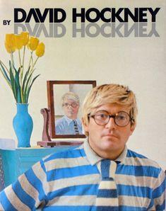 David Hockney by David Hockney - דויד הוקני - Back To List of Art Books and Art Monographs