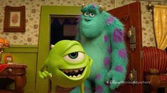"""Mike and Sulley in """"Party Central"""" Mike And Sulley, Pixar Shorts, Party Central, Monster University, Anime Best Friends, Sully, Short Film, Animation, Fan Art"""
