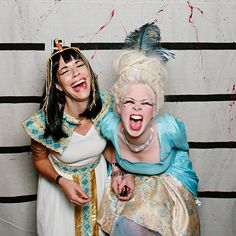 How fun would it be for your group of girl friends to each dress up as a famous/ infamous woman in history for Halloween?!  Dibs on Marie Antoinette! :)