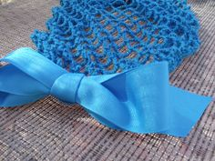 Vintage Retro Pinup Hair Snood Teal Limited by ArtheliasAttic, $19.99