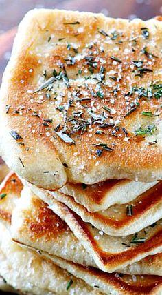 recipes rosemary sea salt flatbread rosemary sea salt flatbread ...