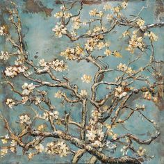 Canvas - Painting - White Cherry x for sale on Trade Me, New Zealand's auction and classifieds website White Cherries, Van Gogh Paintings, Wire Art, Media Design, Living Room Modern, Vincent Van Gogh, Flower Art, Planting Flowers, Paint Colors