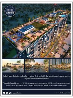 Dream Big ,Believe, Achieve Big. #luxury #homes #apartments #VTTS #NIBM #cloud9estate #Pune To see big, go on. www.cloud9estate.co.in