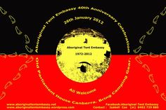 40th anniverary Aboriginal Tent Embassy